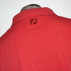 9178 Mens Footjoy Golf Polo Shirt Polyester XL